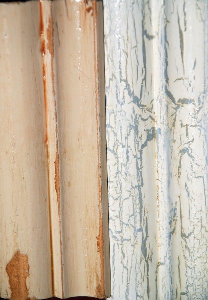 Wood: Wax Resist & Crackle