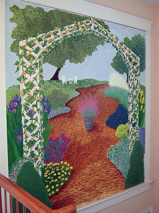 Canvas Garden Mural