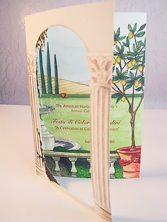 American Horticultural Society Gala Invitation, Fine Art, Invitation, American Horticultural Society, Ashley Spencer,
