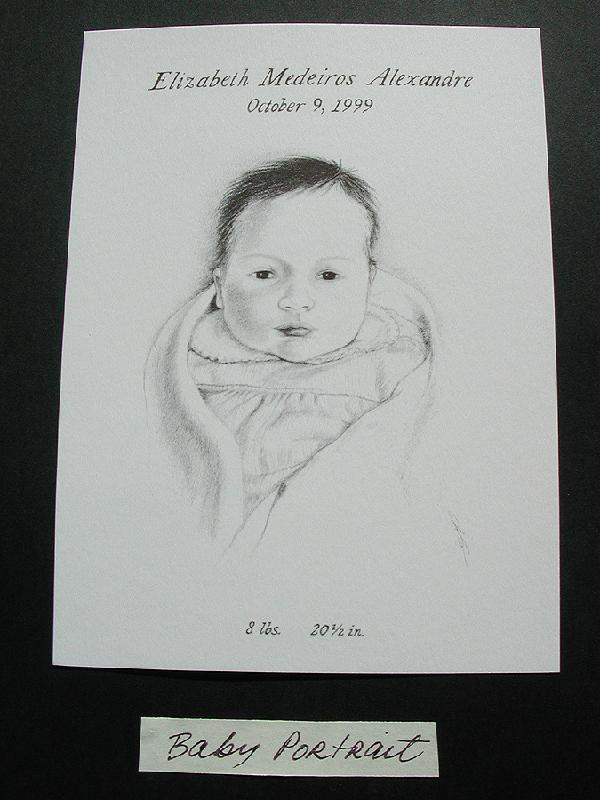 Baby Portrait, Fine Art, Ashley Spencer, Portrait,