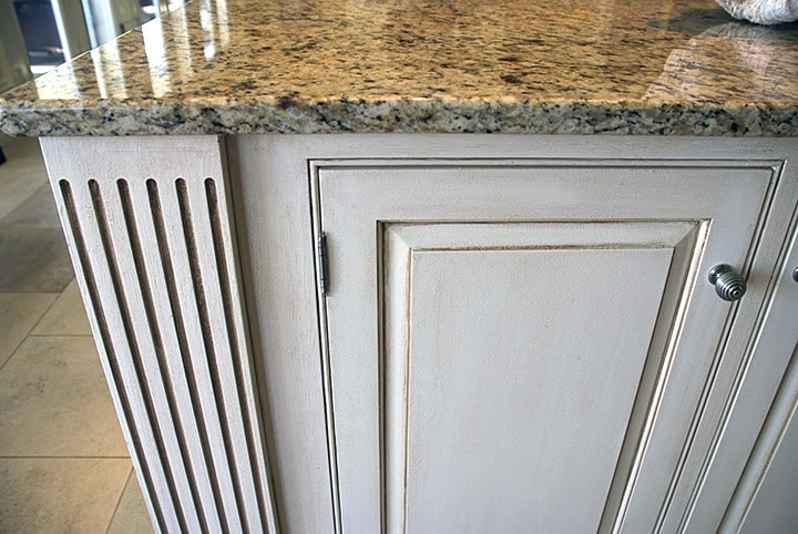 After Cabinet Glazing with Counter - Ashley Spencer