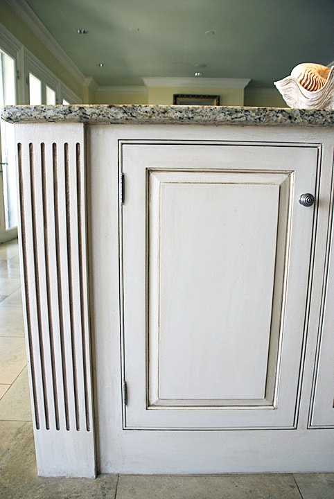 Cabinet  Door After Glazing by Ashley Spencer